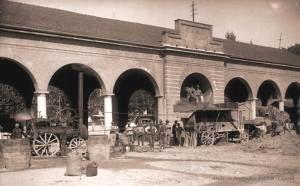 Canelli battitura del grano 1923 Foto Giamelli archivio Bobbio
