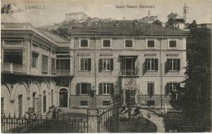 Canelli Palazzo Municipale Anfossi 1909
