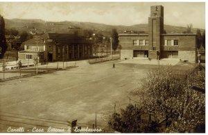 Canelli piazza Repubblica 1939